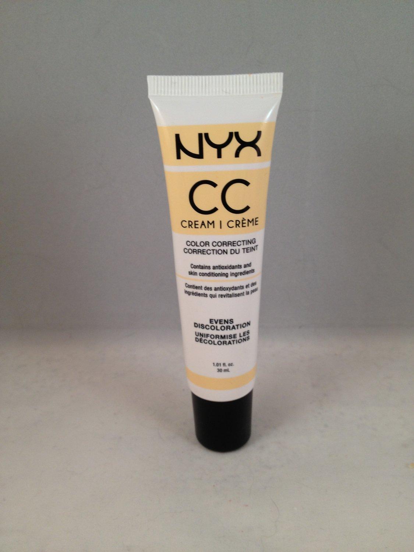 NYX Color Correcting CC Cream CCCR05 Peach Light Medium