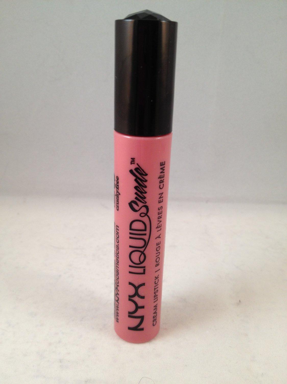 NYX Liquid Suede Cream Lipstick LSCL09 Tea & Cookies lip lipgloss liquid lipcolor