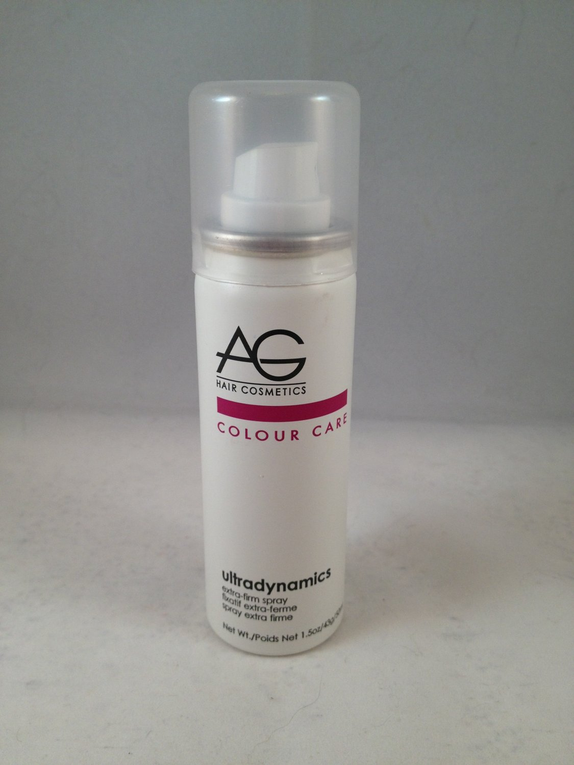 AG Hair Cosmetics Style Ultradynamics Extra-Firm Finishing Spray travel size firm