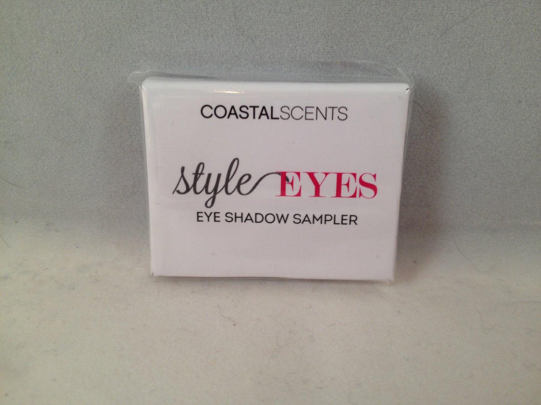Coastal Scents Style Eyes Palette Mini Eyeshadow Sampler Social Eyes eye shadow
