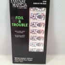 Wet n Wild Fantasy Makers Foil & Trouble Nail Applique Stickers #12748 Queen of the Dead wraps