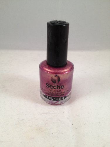 Seche Nail Lacquer Enamored color polish rose shimmer brown