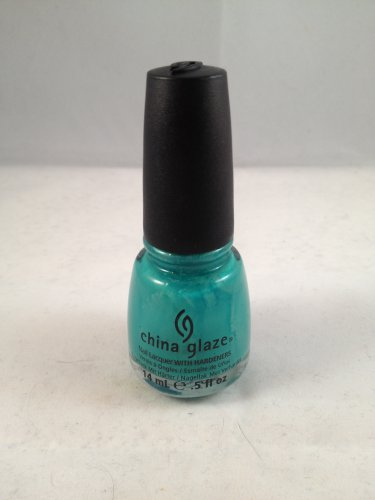 China Glaze Nail Lacquer with Hardeners #866 Four Leaf Clover color polish
