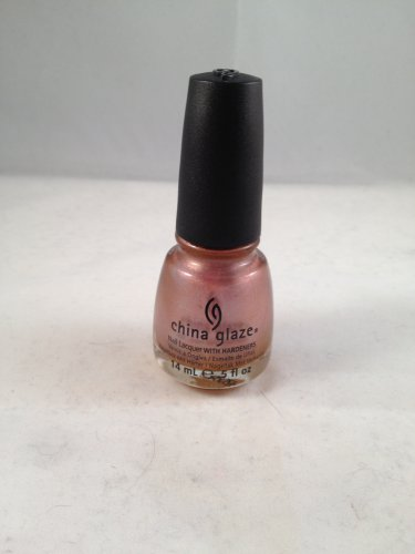 China Glaze Nail Lacquer with Hardeners #687 Poetic color polish