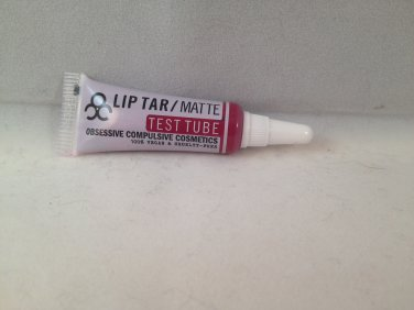 Obsessive Compulsive Cosmetics OCC Lip Tar Test Tube Strumpet matte liquid lipstick
