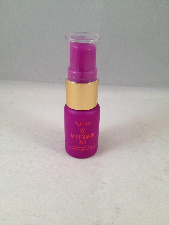 Tarte Tarteguard 30 Sunscreen Lotion travel size Broad Spectrum SPF face