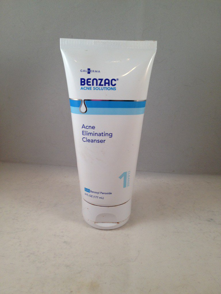 Benzac Acne Solutions Acne Eliminating Cleanser skin care face wash