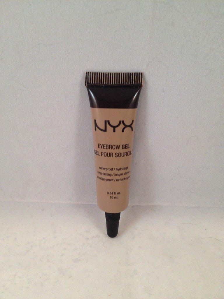 NYX Eyebrow Gel EBG01 Blonde eye brow waterproof