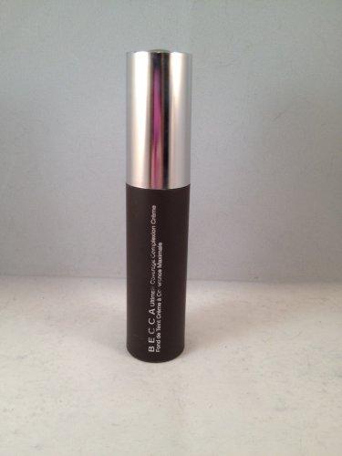BECCA Ultimate Coverage Complexion Creme Buttercup liquid foundation face makeup