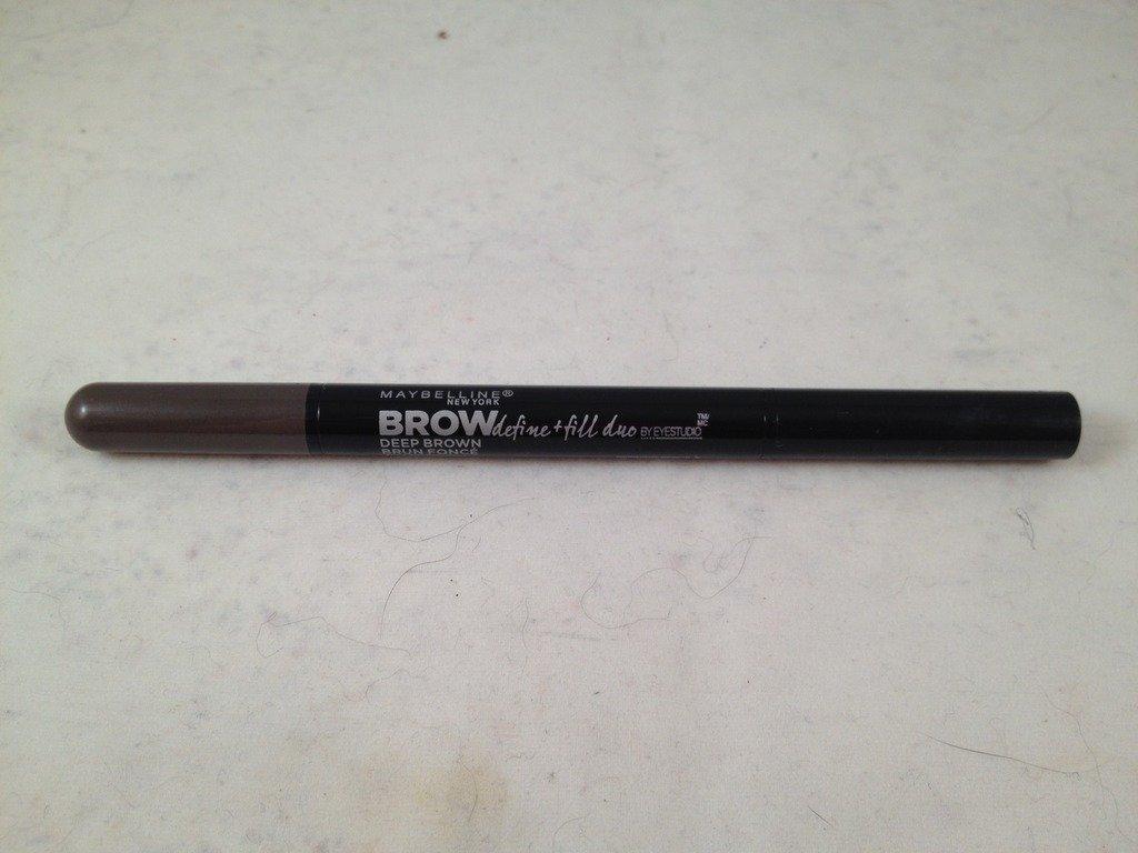 Maybelline Eye Studio Brow Define and Fill Duo Deep Brown eyebrow crayon powder