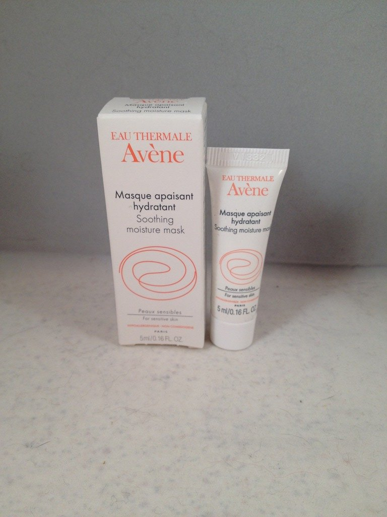 Avene Eau Thermale Soothing Moisture Mask travel size facial skin care masque