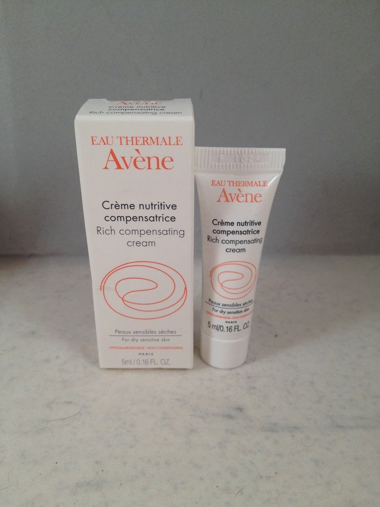 Avene Eau Thermale Rich Compensating Cream travel size facial skin care moisturizer
