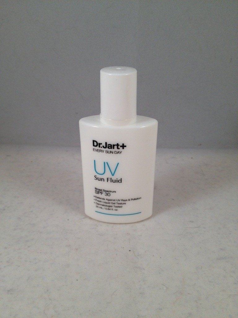 Dr. Jart+ Every Sun Day UV Sun Fluid Broad Spectrum SPF 30 travel size sunscreen