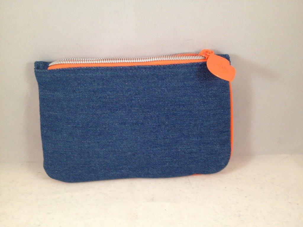 Ipsy MyGlam Glam Bag February 2017 Much Love Cosmetic case purse denim