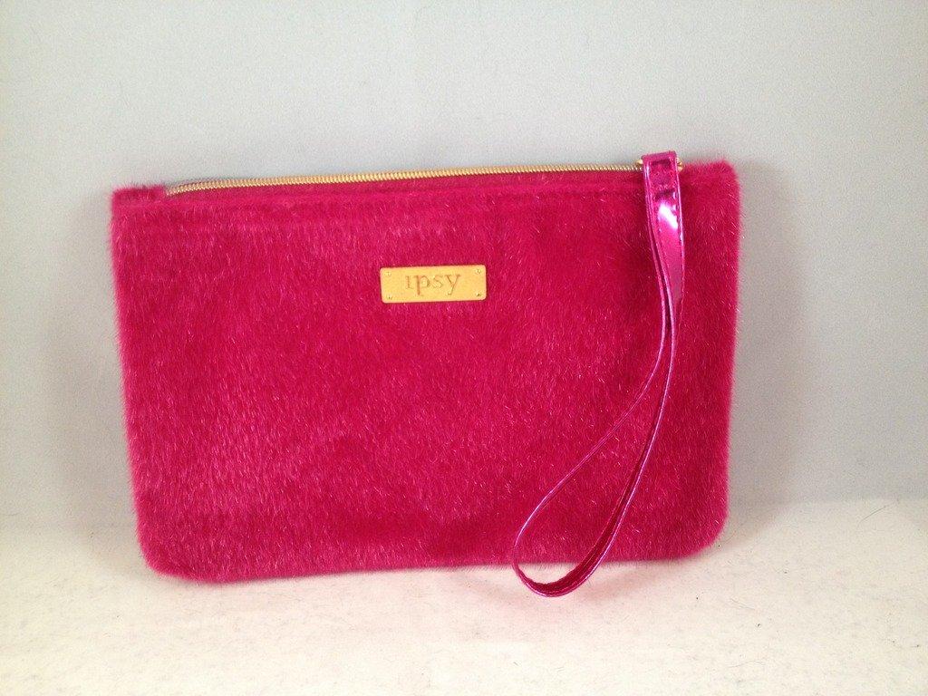 Ipsy MyGlam Glam Bag December 2016 Carpe P.M. Cosmetic case purse wristlet pink