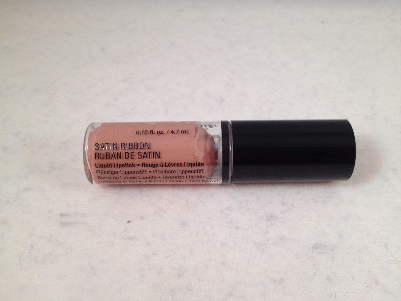 NYX Mini Lip Lingerie Satin Ribbon matte nude liquid lipcolor lipstick