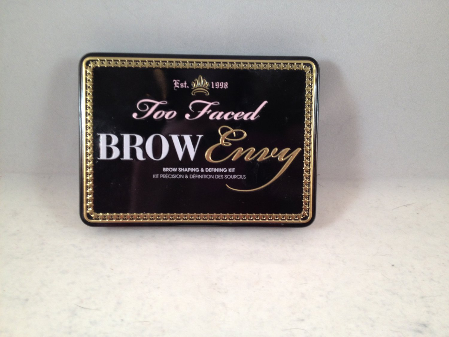 Too Faced Brow Envy Brow Shaping & Defining Kit eyebrow palette eye