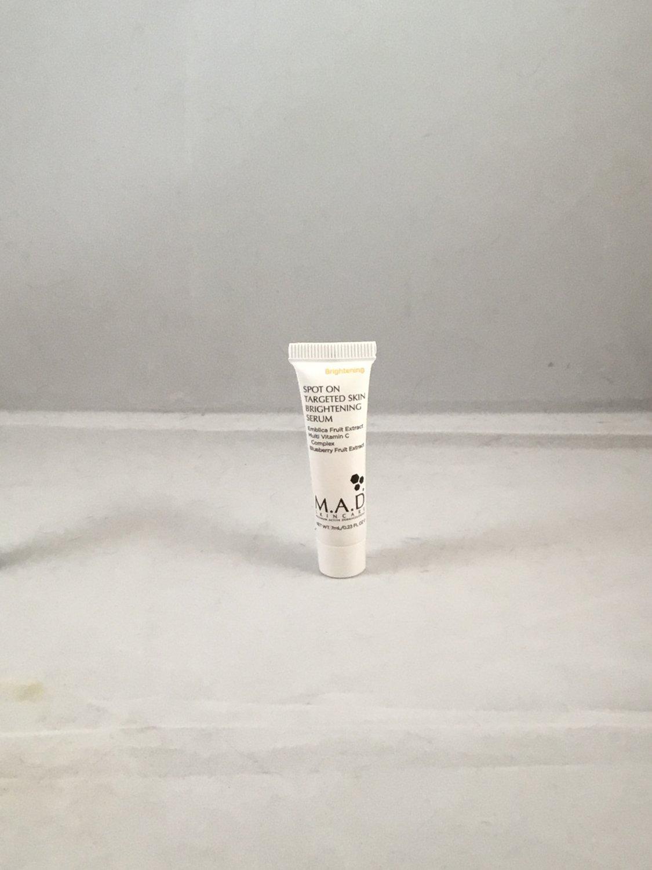 M.A.D Skincare Spot On Targeted Skin Brightening Serum travel size Maximum Active Dermaceuticals