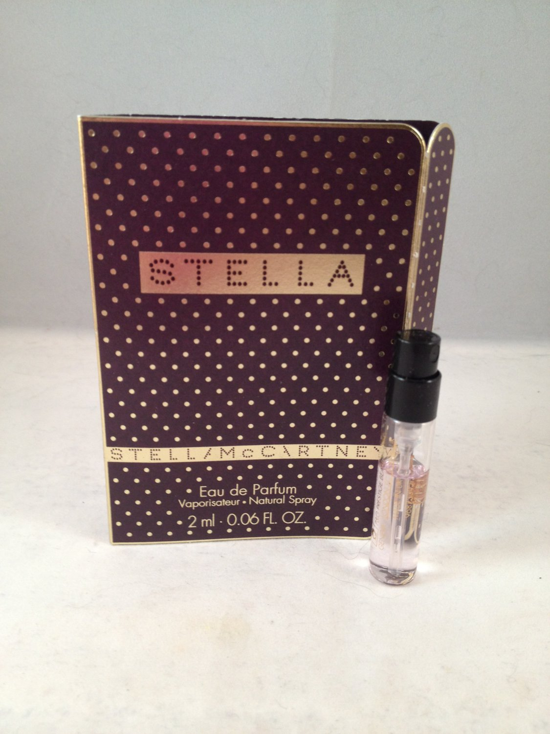 Stella by Stella McCartney Sample Vial Eau De Parfum fragrance EDP perfume spray