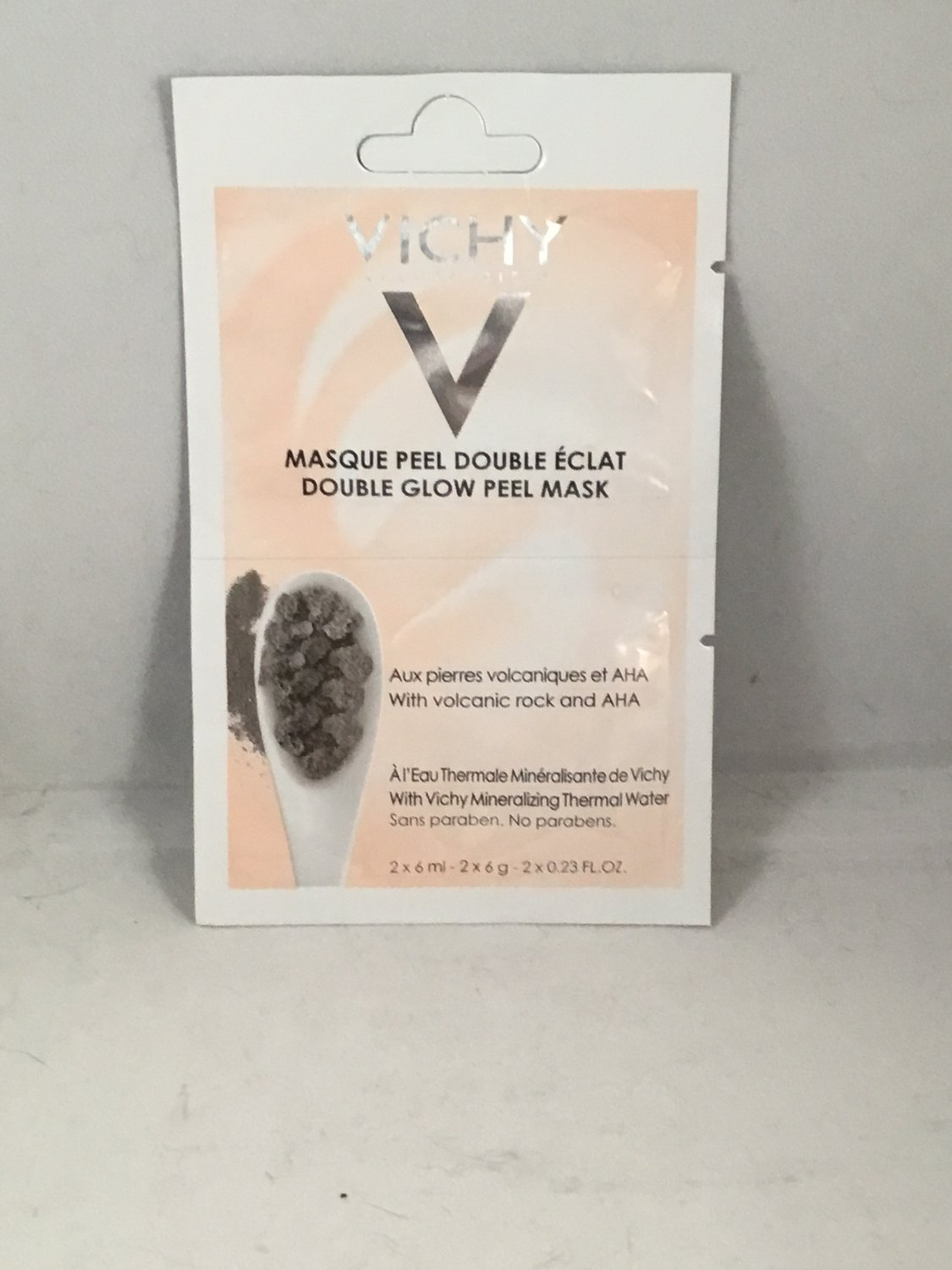 Vichy Laboratories Double Glow Peel Mask trial size Peeling Face Masque