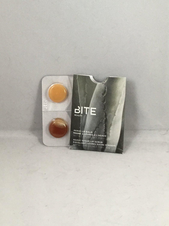 Bite Beauty Agave Lip Balm and Agave Sugar Lip Scrub Sampler Exfoliator