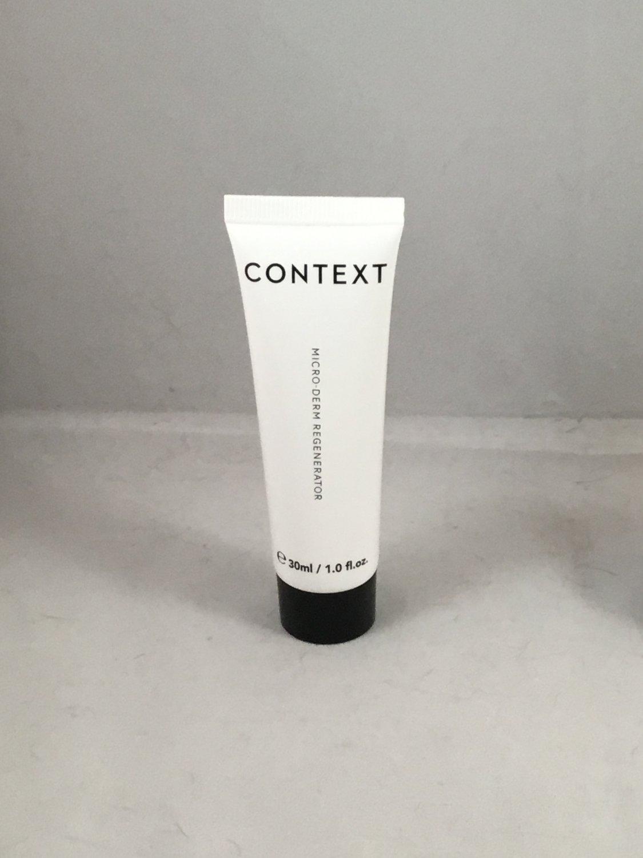 Context Skin Micro-Derm Regenerator Travel Size Microderm Cleanser Exfoliator