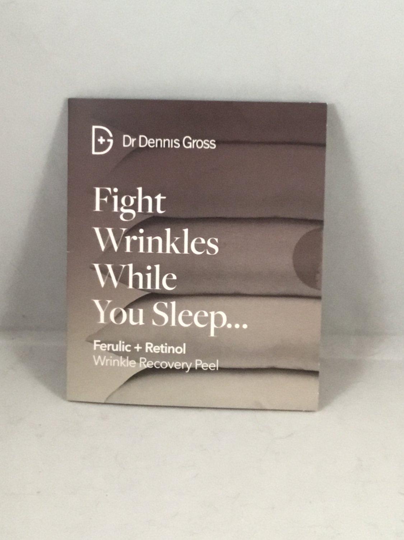 Dr. Dennis Gross Ferulic + Retinol Wrinkle Recovery Peel 2 Treatment Packets