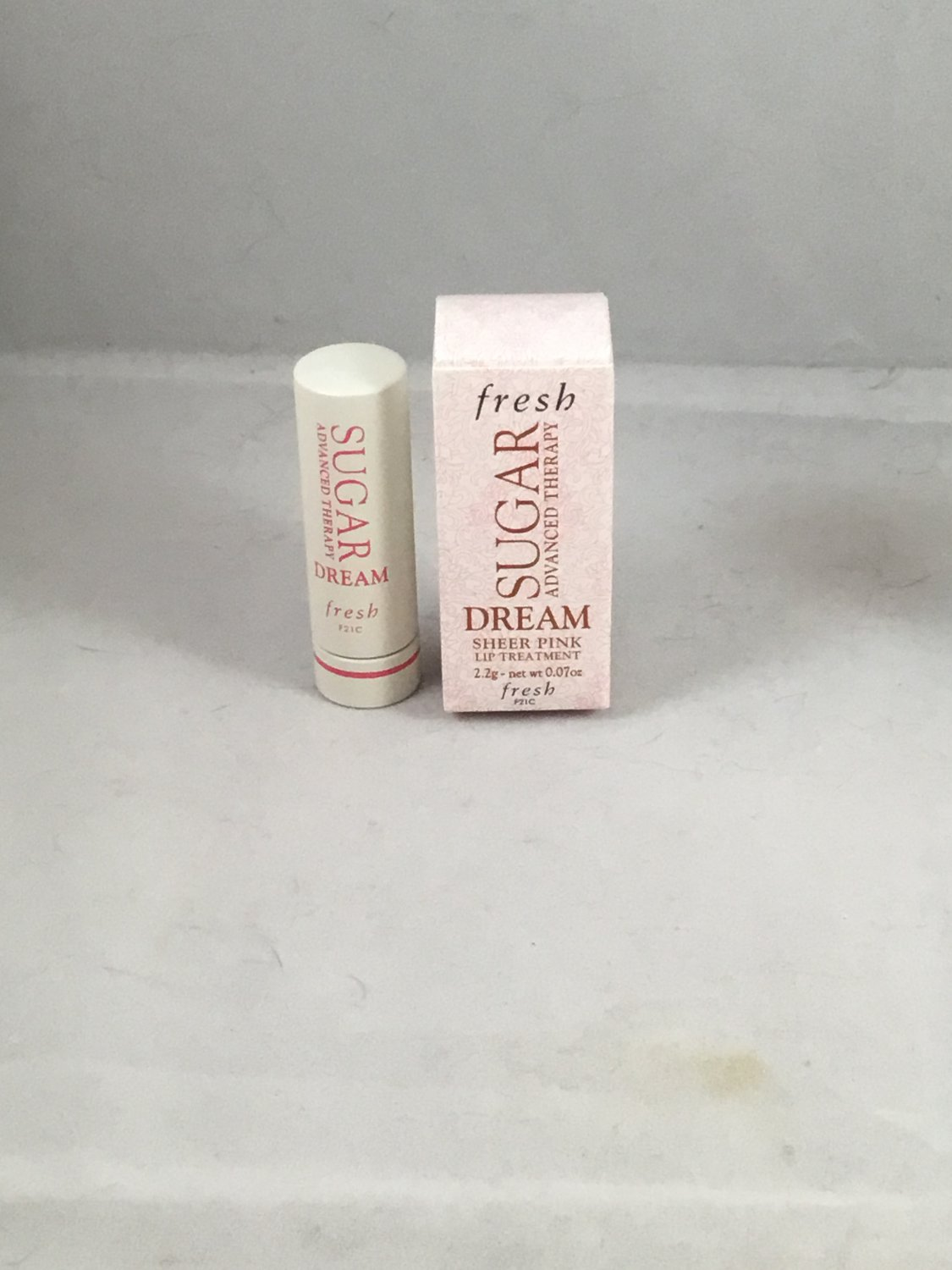 Fresh Sugar Advanced Therapy Lip Treatment Dream Sheer Pink travel size Tinted Balm