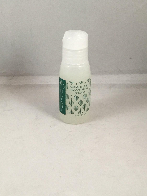 Hayadi Weightless Smoothing Cream Travel Size Hair Styling Treatment Lotion