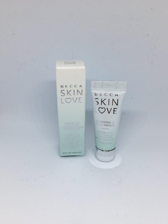 BECCA Skin Love Brighten & Blur Primer trial size for face foundation