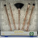Harry Potter Swish and Flick Cosmetic Brushes Rose Gold Official Wizarding World Brush Set Boots