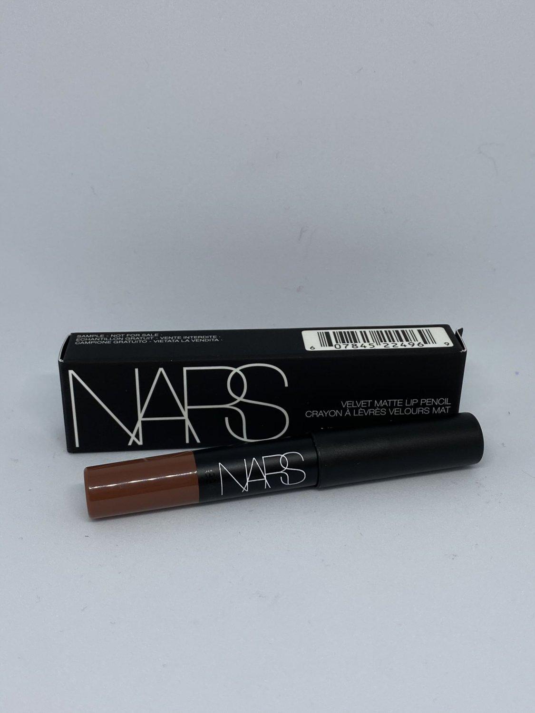 NARS Cosmetics Velvet Matte Lip Pencil #2496D Dance Fever travel size Lipstick crayon