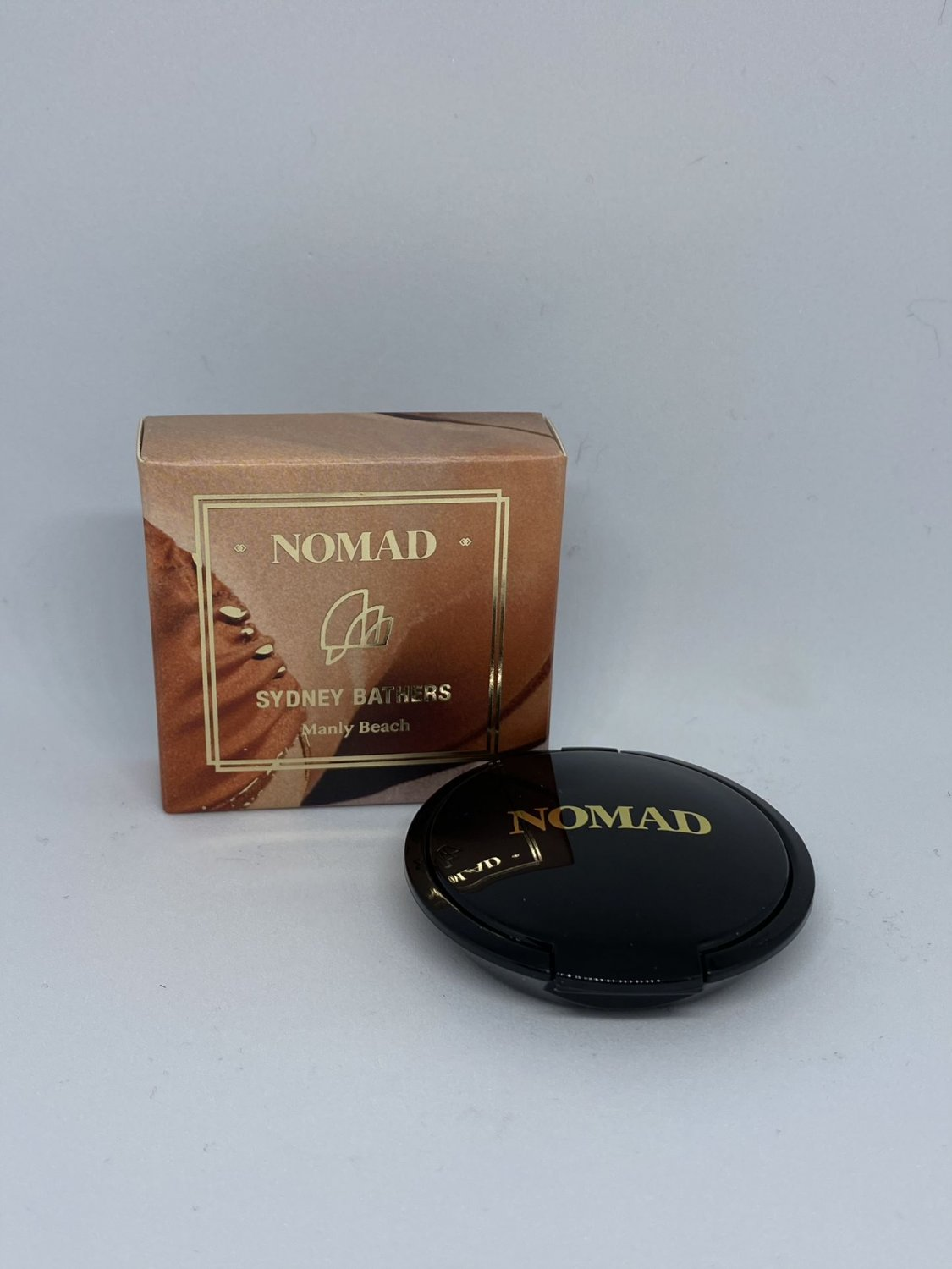 Nomad x Sydney Bathers Collection Kiss of Sun Bronzer & Contour Travel Size Manly Beach