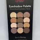 Sleek MakeUP Eyeshadow Palette Sun is Shining 12 Shades Eye Shadow