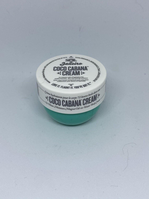 Sol de Janeiro Coco Cabana Cream travel size Plush Moisture Coconut Body Blend