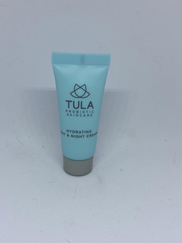 Tula Probiotic Skincare Hydrating Day & Night Cream travel size moisturizer
