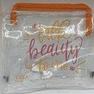 Ulta Beauty Talk Beauty To Me Clear Makeup Bag