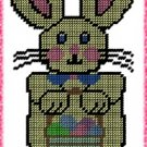 Easter Bunny Plastic Canvas E-Pattern