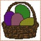 Easter Egg Basket Plastic Canvas E-Pattern
