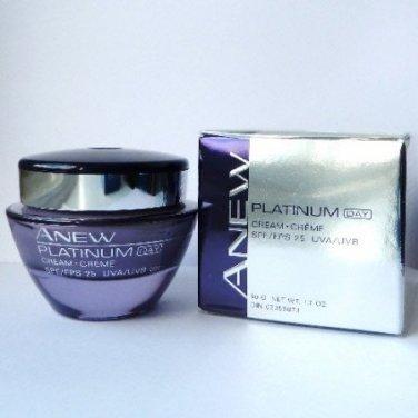 Avon Anew Platinum Day Cream SPF 25 1.7 fl. oz.