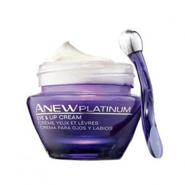 Avon Anew Platinum Eye and Lip Cream SPF 25 0.5 fl. oz.