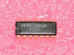 MC3026P Dual Four Input AND Power Gate Linear Logic IC