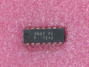 9601PC Monostable Multivibrators; Dual Multivibrators and Oscillators IC