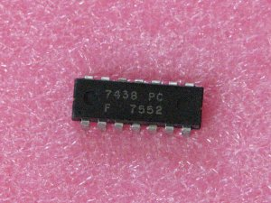 7438PC NAND Buffer Gates Interface IC
