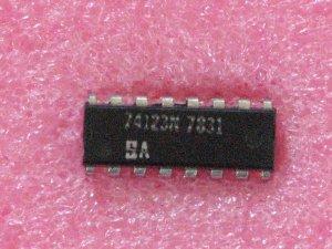 DM74123N Monostable Multivibrators; Dual IC