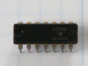 SN7410N Digital ICs Logic Gates, NAND; 3-Input