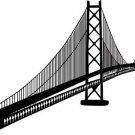 *NEW* Oakland Bay Bridge San Francisco Vinyl Sticker Decal