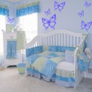 *NEW* 7 Butterfly Vinyl Wall Stickers Decals Great for the Nursery