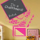 *NEW* Cool Jack in the Box Chalkboard Vinyl Wall Sticker Decal Great for a Kids Room