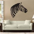 Huge Zebra Vinyl Wall Sticker Decal